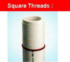 square threads